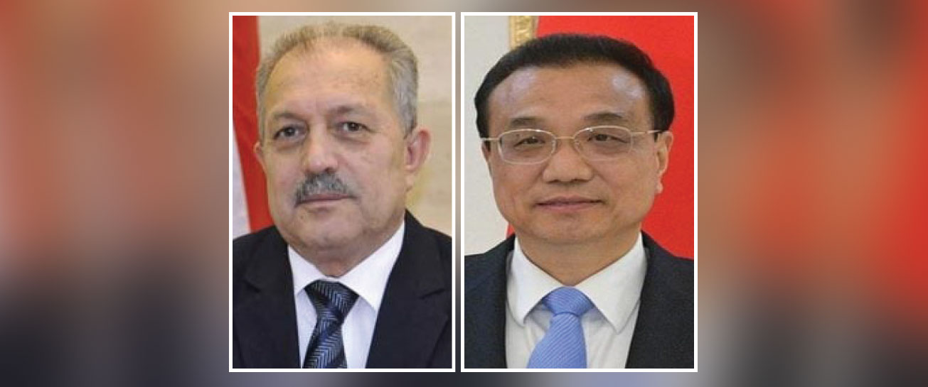 Premier of China Expresses Interest 'Helping Syria and Developing Relations'