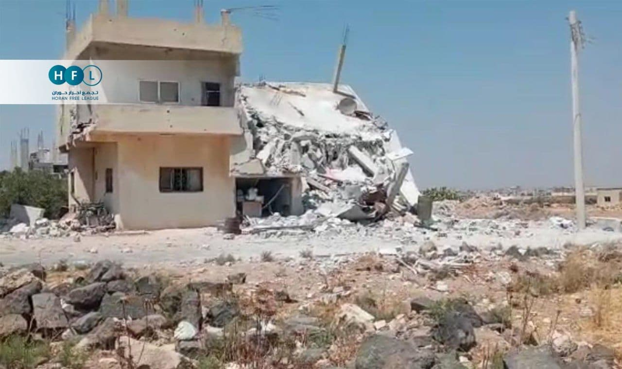 Russian Delegation Meets Regime Defense Minister in Daraa