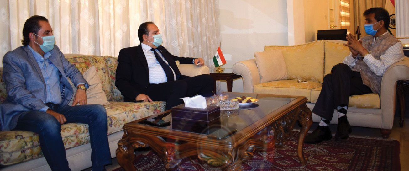 India and Syria to Develop Business Relations