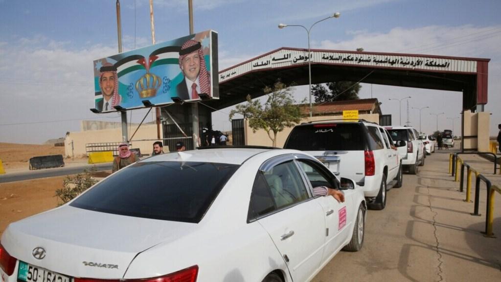 Jaber Crossing Between Jordan and Syria Reopens