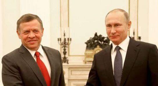 Meeting Between Abdullah II and Putin May End Escalation in Daraa