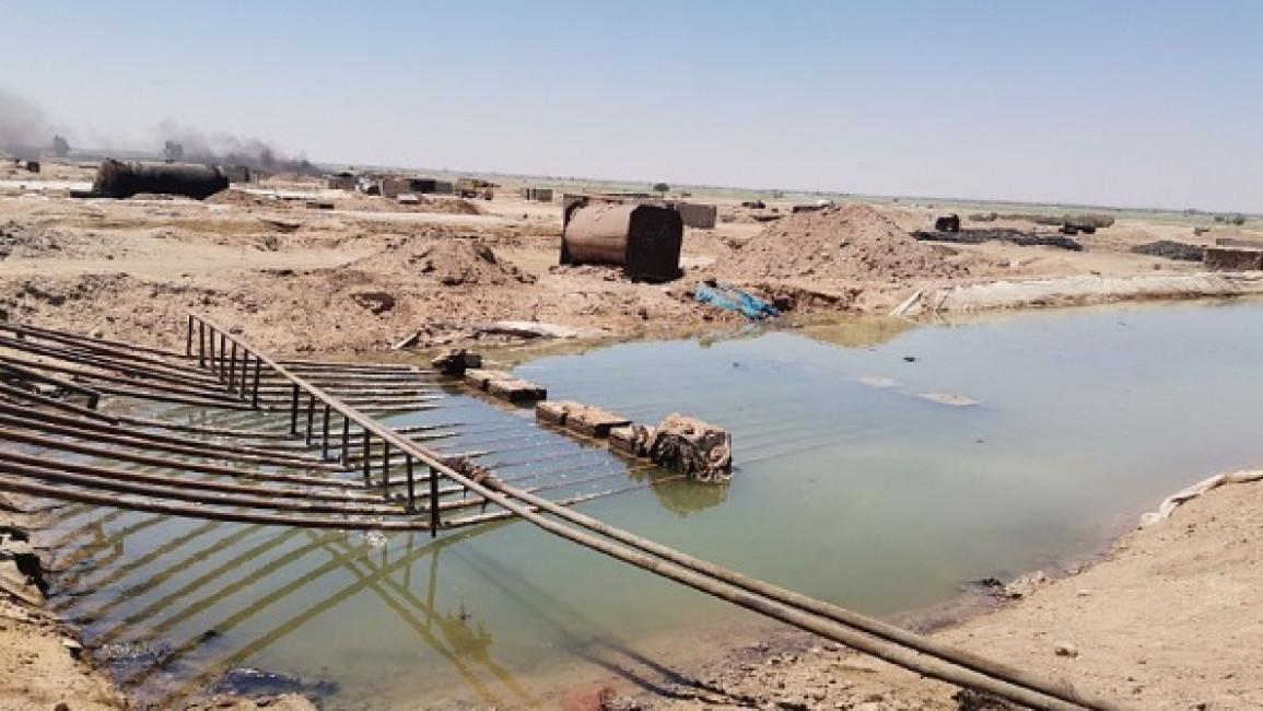 Oil Spill Syria