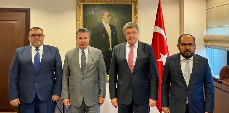 Meeting Between Syrian Opposition and Deputy Foreign Minister of Turkey