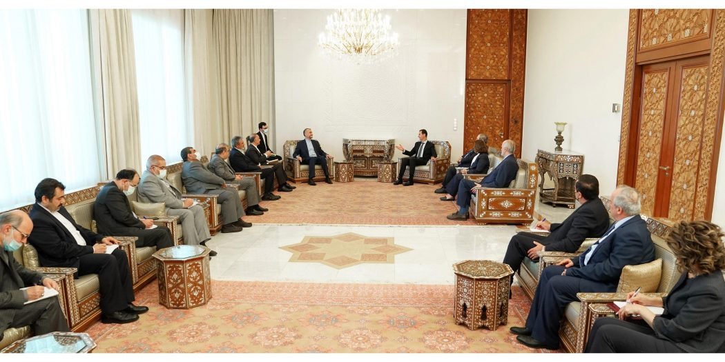 Iranian Foreign Minister in Syria to Discuss Strategic Relations