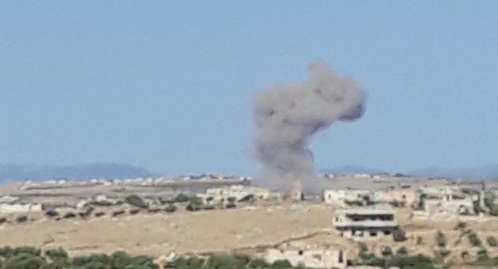 Russian Airstrikes on Opposition Factions in Idleb
