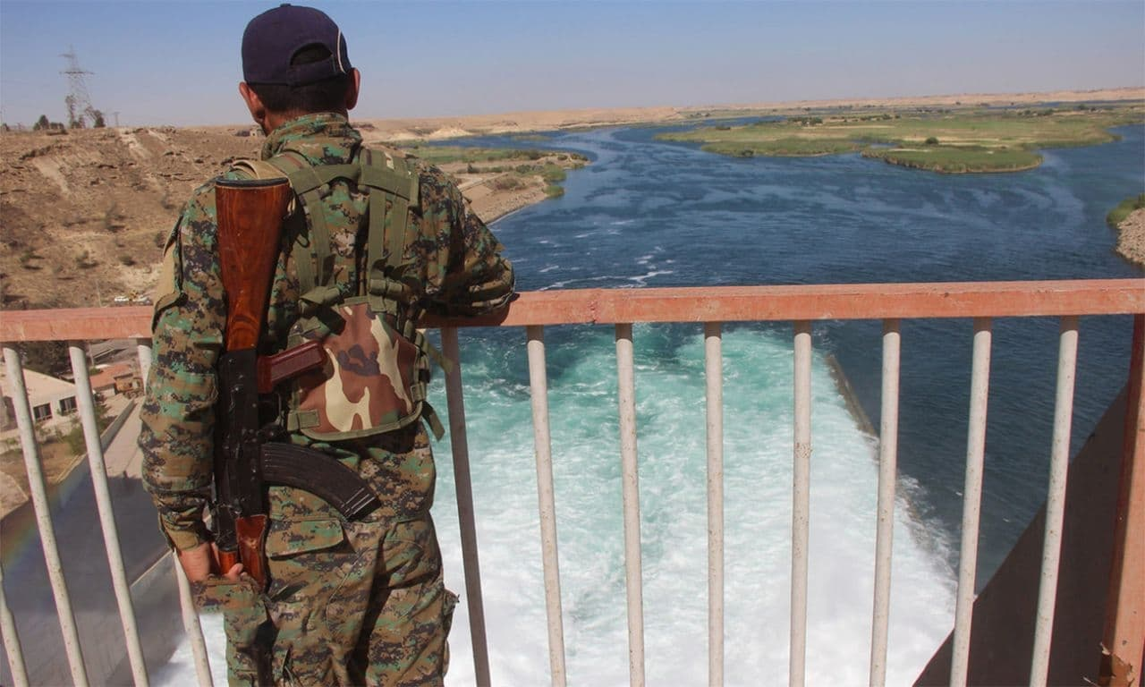 SDF Raided Smuggling Crossings with Regime. What about al-Qaterji?