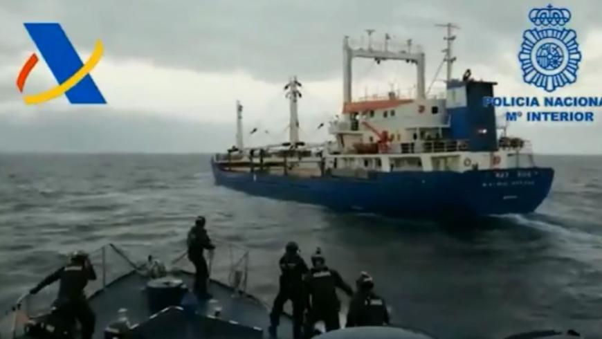 Spain: Drugs Seized in Ship Coming from Lebanon with Syrian Crew