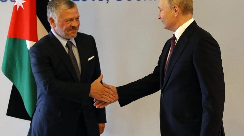 Southern Syria High on Agenda of Summit Between Abdullah and Putin