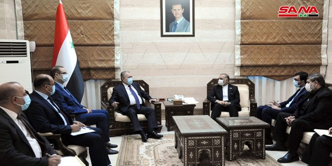 Syria, Iran Discuss Steps for Implementing Cooperation Projects