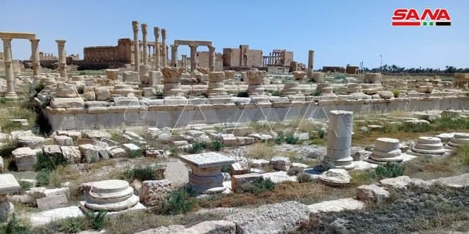 Mission From Syria and Russia to Rehabilitate Syrian Archeological Ruins