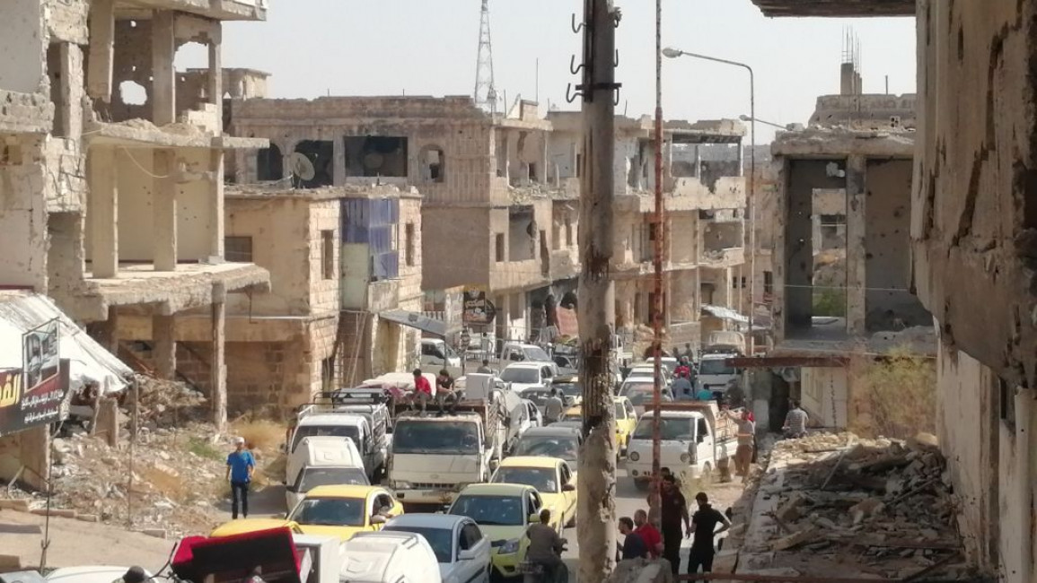 Regime and Allied Militias Storm Daraa al-Balad as Negotiations Fail