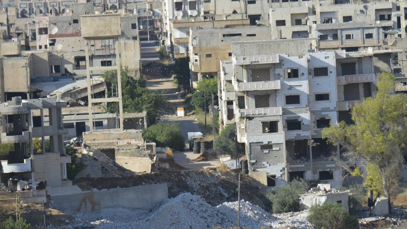 Syria Daraa Meslet Opposition Aid