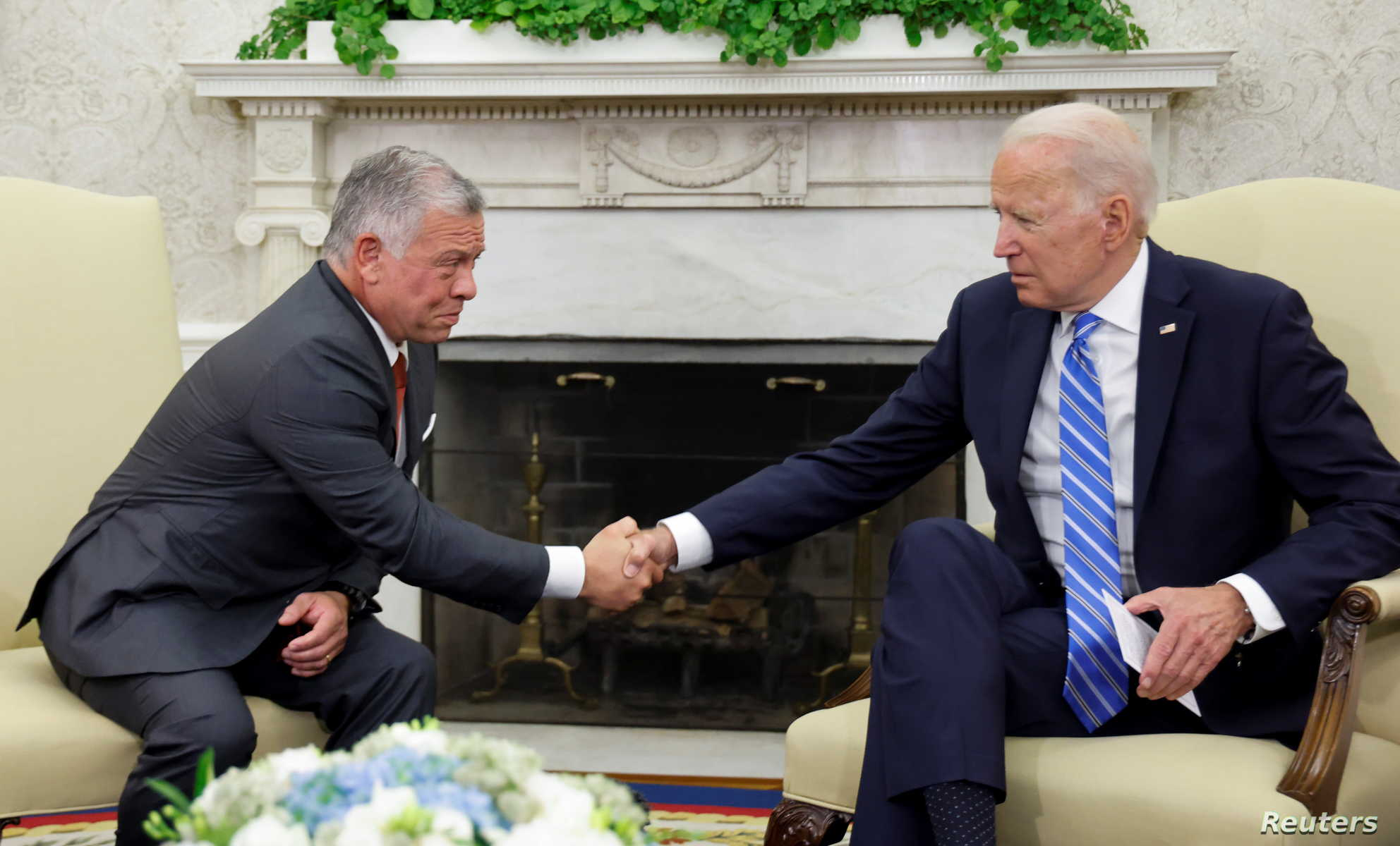 """From """"Welcoming"""" to """"Reviewing"""": Contradictory U.S. Positions on Jordan's Rapprochement with Assad"""