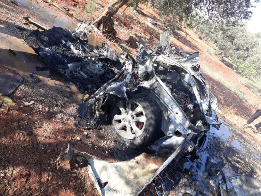 Drone Targets Car in Idleb Amidst Rumors of Guardians of Religion Leaders Assassination