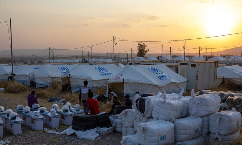WFP Reduces Humanitarian Aid Food Basket for North-western Syria