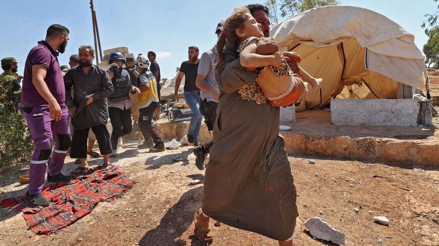 Russia Intensifies Idlib Attacks Ahead of Summit with Turkey, Iran on Syria