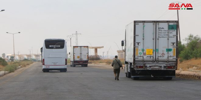 Syria and Jordan Resume Freight and Travel Through Jaber Crossing