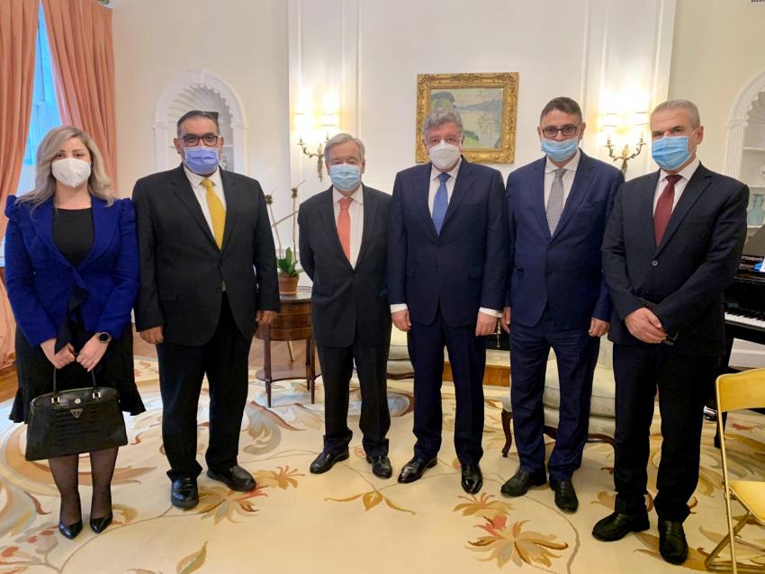 Joint Delegation of SOC & SNC Meets UN Secretary-General