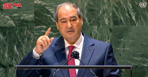 Mekdad in UNGA: War Against Terrorism to Continue until Successful