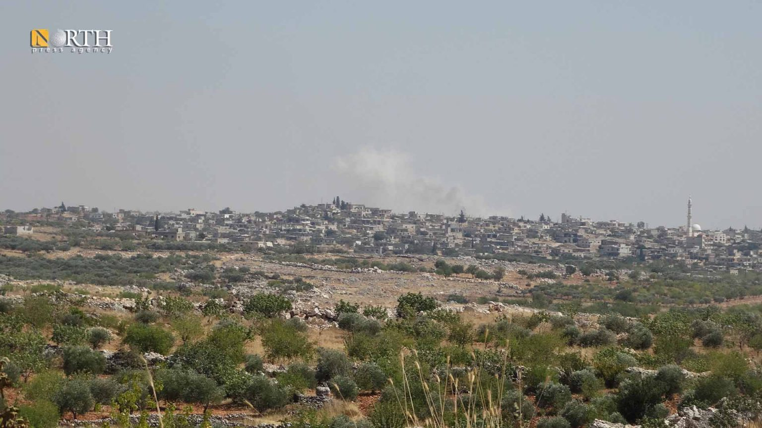 Opposition Factions Bomb Government Forces in Northwest Syria