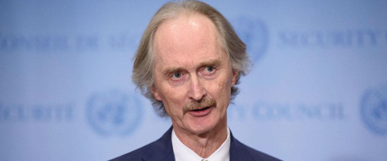 Pedersen in Damascus to Discuss Sixth Round of Geneva Constitutional Committee