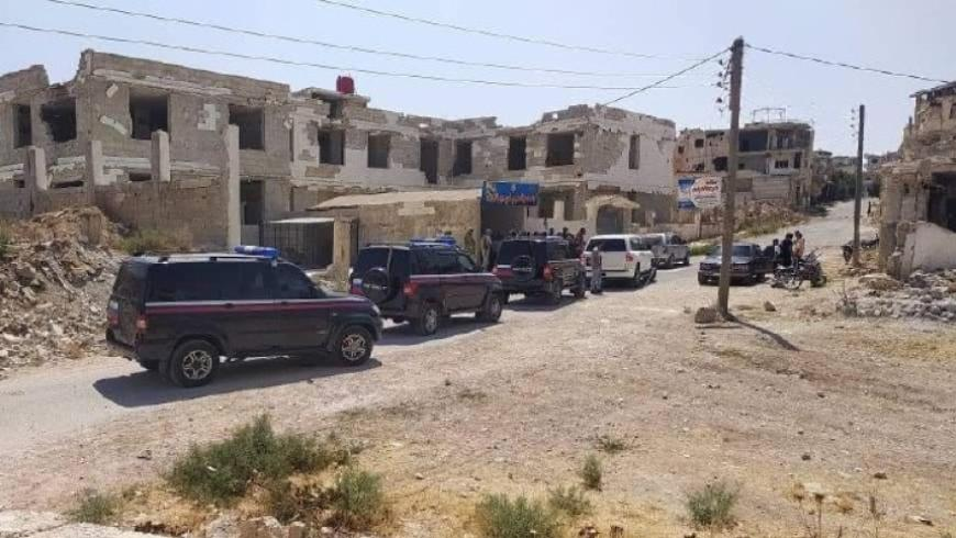 Russian Police Enter Daraa al-Balad to Implement Agreement