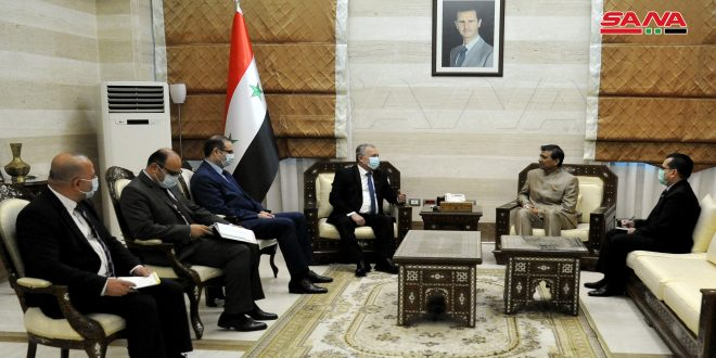 Syria, India Review Ways of Boosting Cooperation