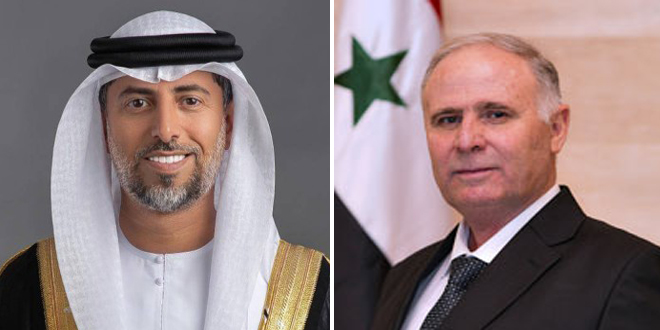 Talks Between Syria and the Emirates on Water and Energy Cooperation