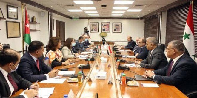 Syrian Meetings With Neighboring Jordan and Lebanon