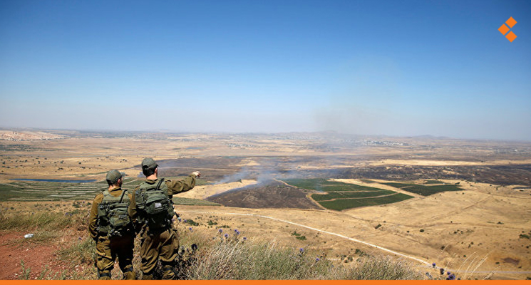 Syrian Army Deploys at Occupied Golan Borders