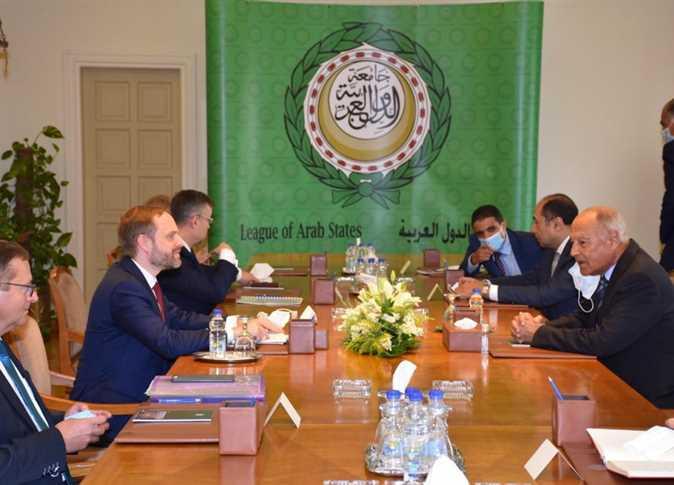 Syrian Opposition Delegation Meets Arab League Secretary-General