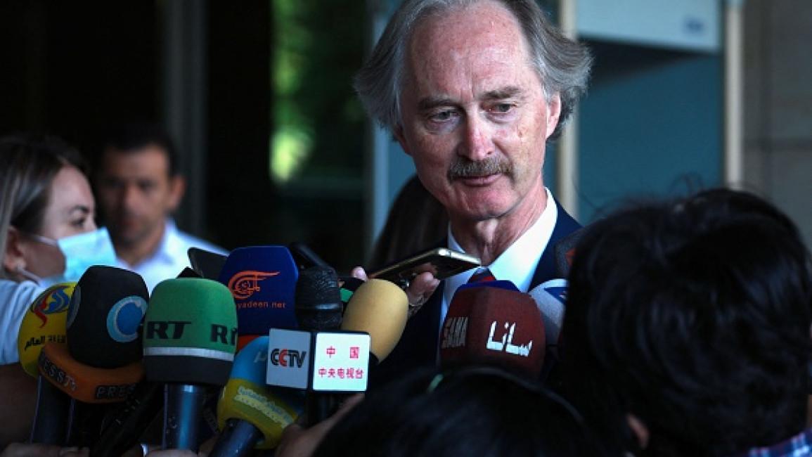 UN Envoy Hopeful Syria Constitution Talks will Resume
