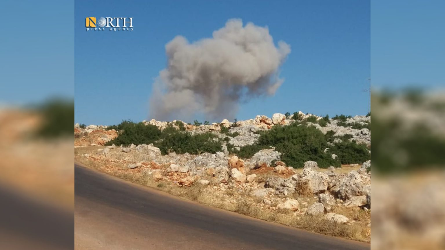 """U.S. """"Concerned"""" about Syrian and Russian Shelling on Idleb"""