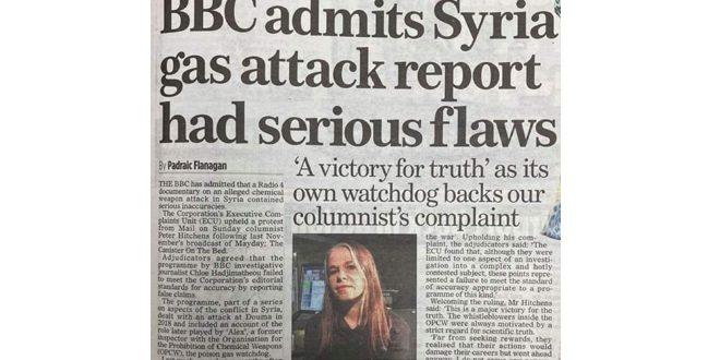 BBC Douma Chemical Attack