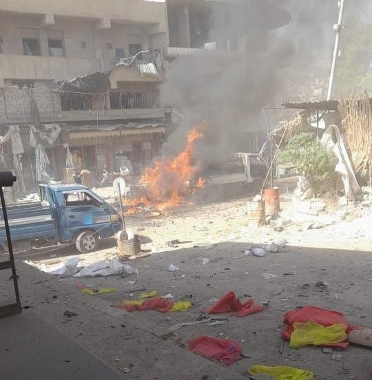 Four Killed in Bomb Blast in Afrin, Northern Aleppo