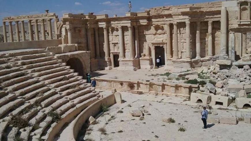 Iran Competes with Russia in Restoration Monuments in Syria
