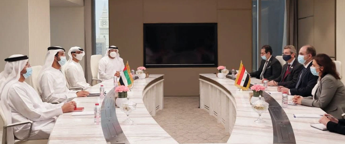Syrian-Emirati Agreement to Reshape and Activate Joint Businessmen Council