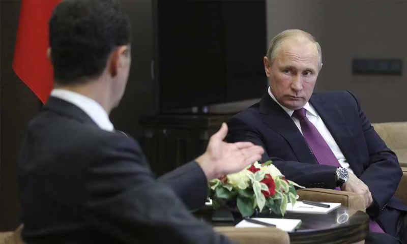 Moscow Disappointed by Assad… Deceitful and Dissociated from Reality