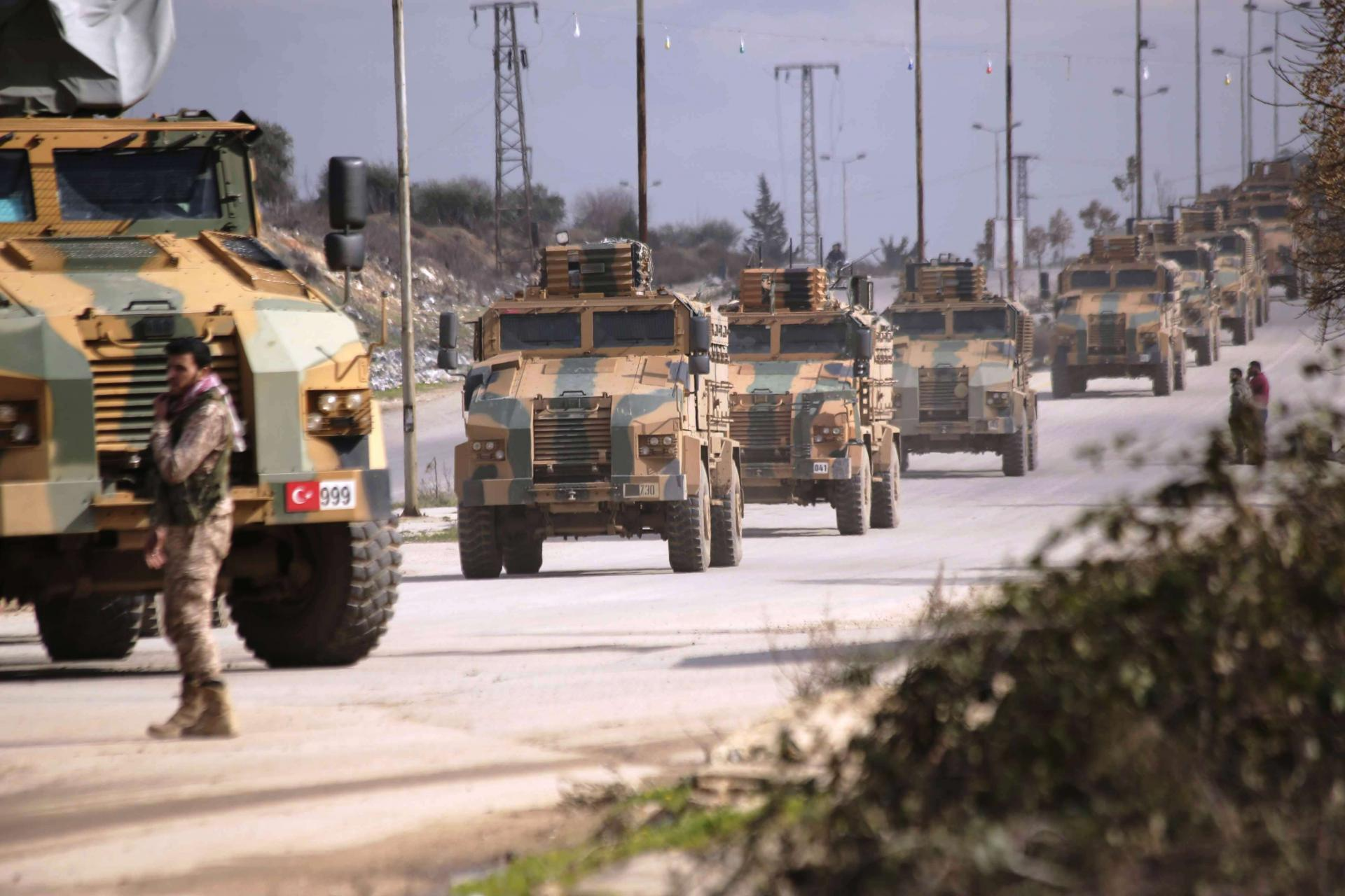 Turkey Sends Massive Military Reinforcements to Syria