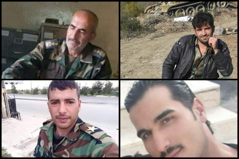 Death of Four Regime Officers, Including a Brigadier General