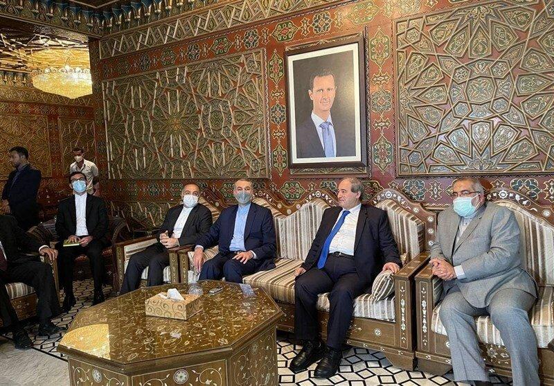 Assad Abdollahian Meeting: Iran Will Stand by Syria Vigorously