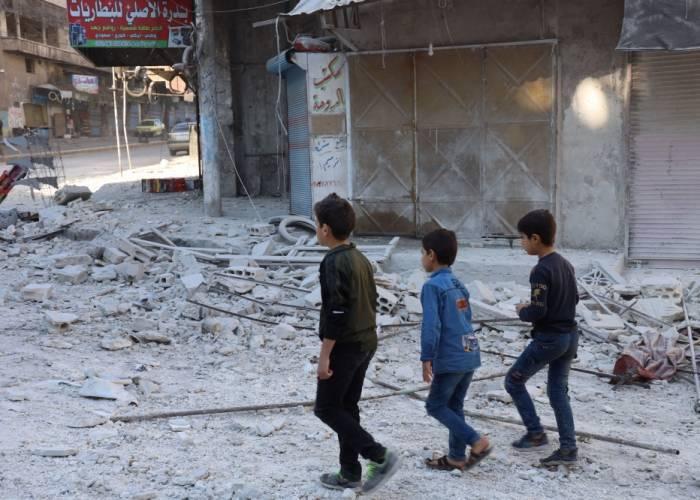 Regime Shelling Kills 13 People in Idleb Town of Ariha