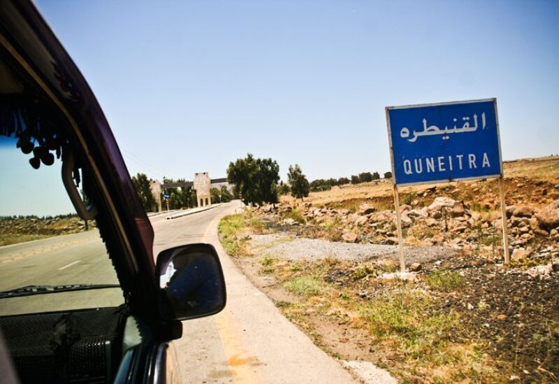 Israeli Drone Bombs Hezbollah Positions in Quneitra