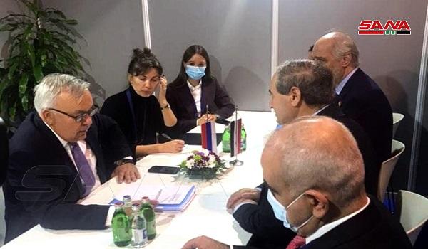 Mekdad Meets Delegations at Non-Aligned Mouvement Meeting