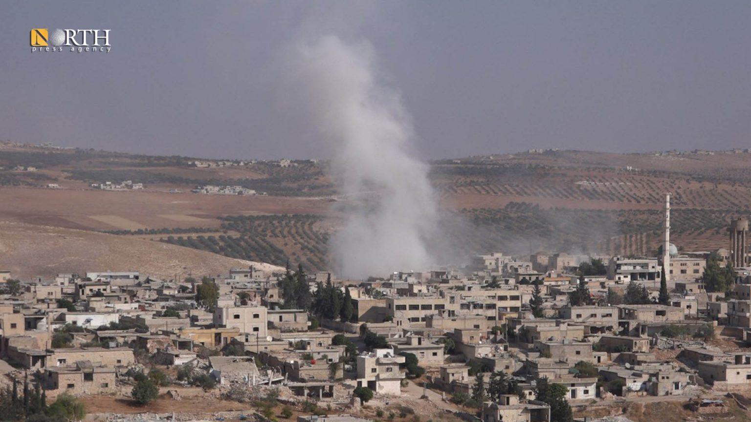 Mutual Bombardment Renews in Northwest Syria De-escalation Zone