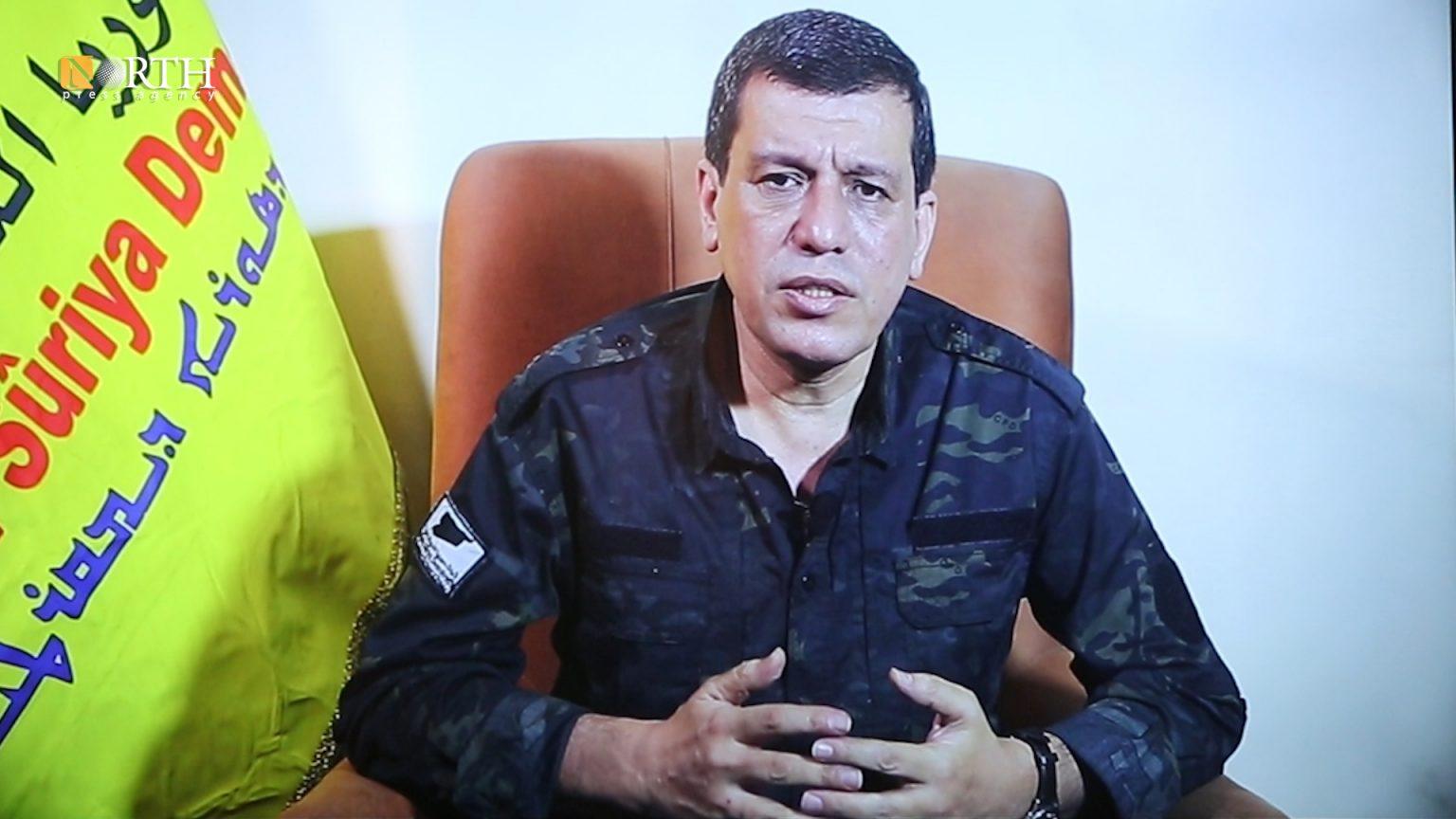 Mazloum Abdi Promises New Phase in Northeast Syria to Civil Society