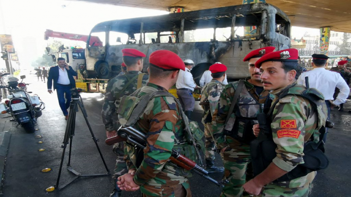 Shadowy Rebel Group Claims Responsibility for Damascus Bus Attack