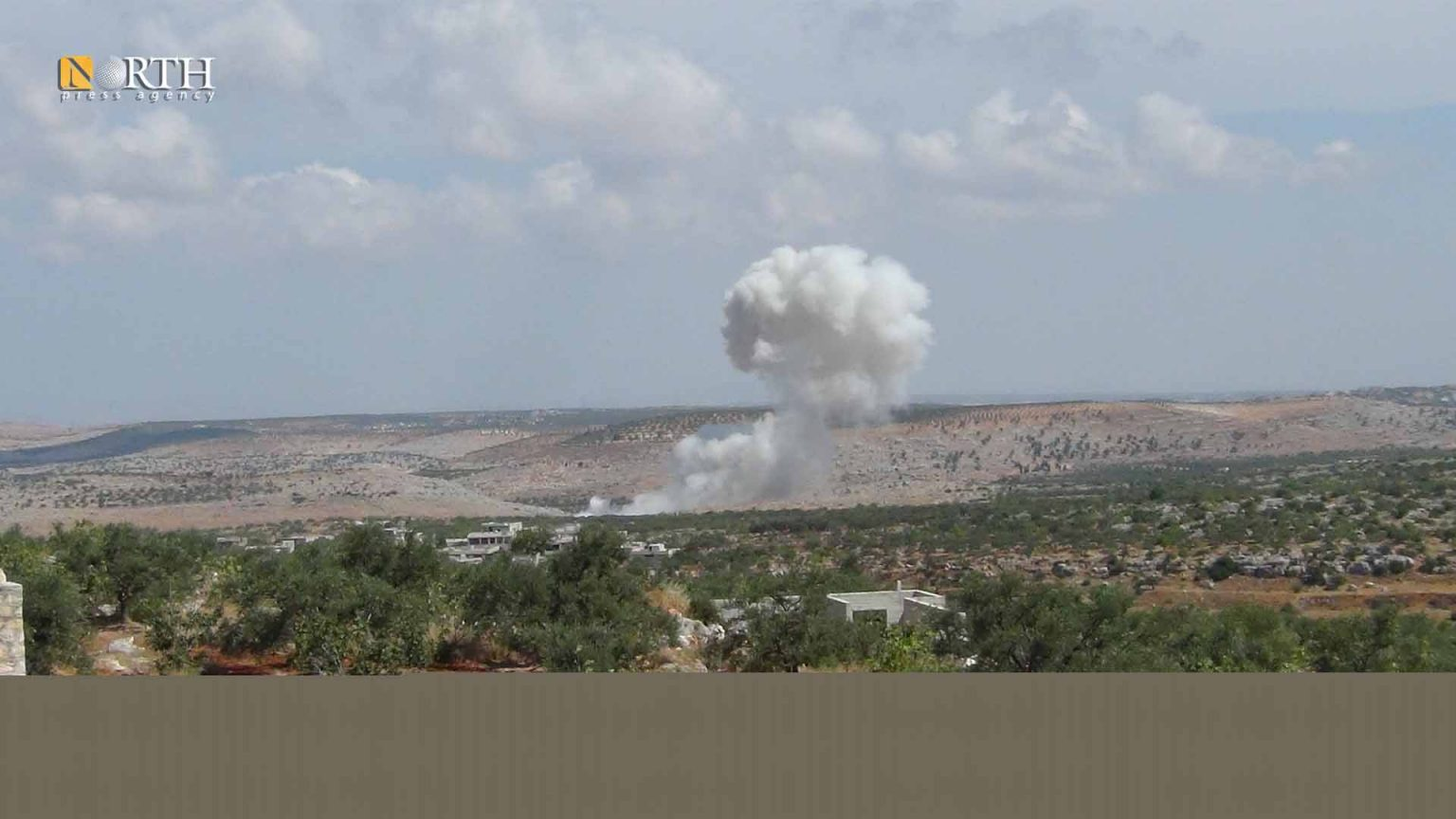 Syria's northwest witnesses mutual bombardment and Russian air strikes Syria Idleb