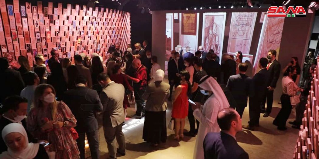 Syria's Pavilion at Expo Dubai 2020 Receives Large Number of Visitors