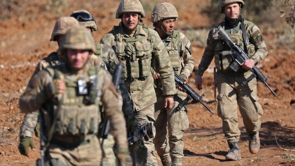 Two Turkish Officers Killed in Kurdish Militant Attack in Northern Syria